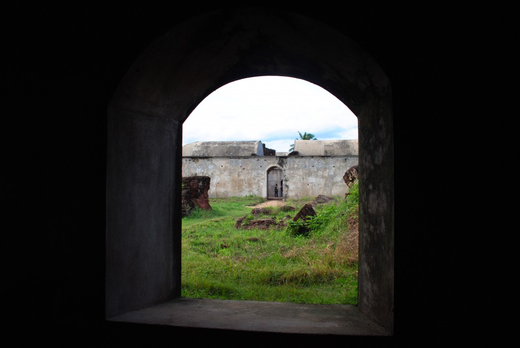 Sadras Fort, a piece of Holland left in India