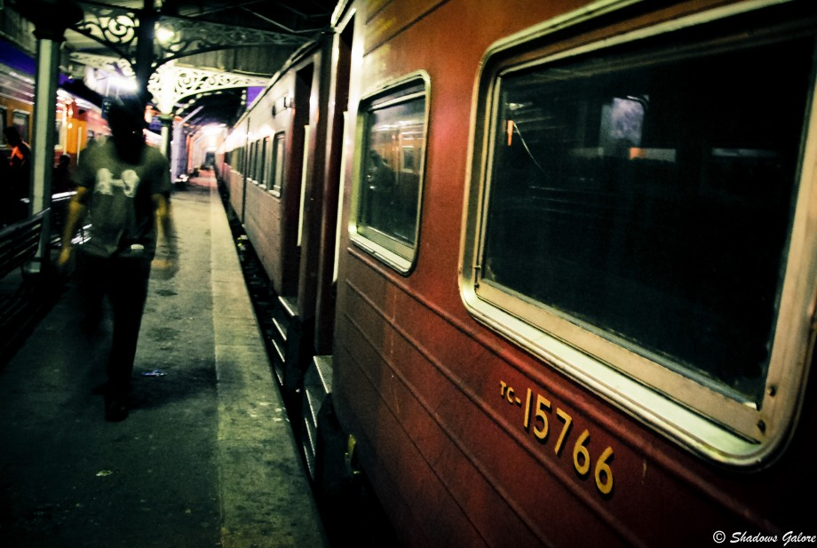 A train in Kandy