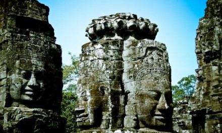 Backpacking across South East Asia: Angkor Thom, Cambodia