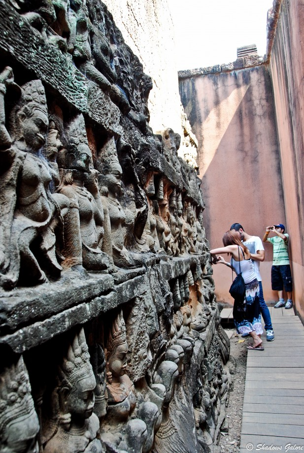 Backpacking across South East Asia: Angkor Thom, Cambodia 3