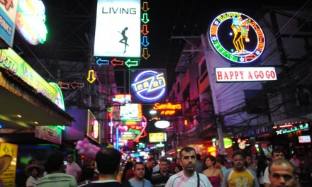 Backpacking across South East Asia: Pattaya, Thailand