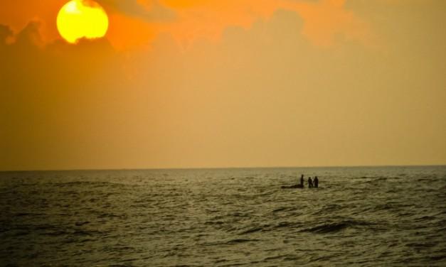 Chennai-scape: Sunrise at Thiruvanmayur Beach