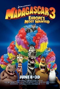 Madagascar 3: Europe's most wanted: A short Review 1