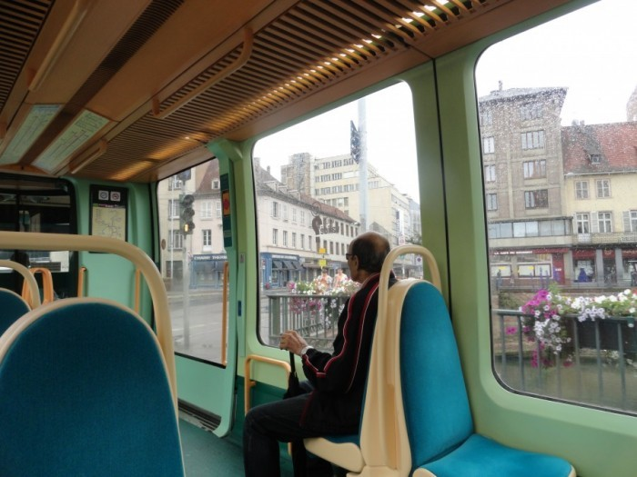 View from a tram