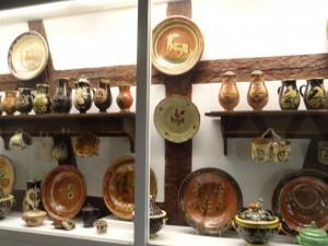 An exhibit at the Alsacian Museum