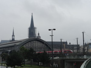 Cathedral seen from a distance
