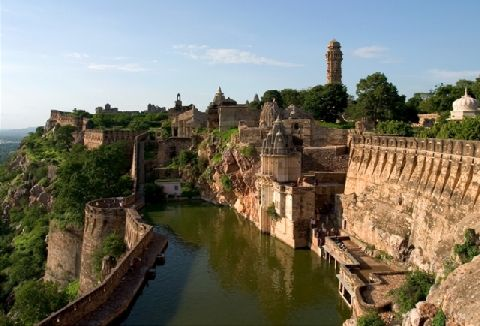 Chittorgarh-Fort-Udaipur-Rajasthan-India