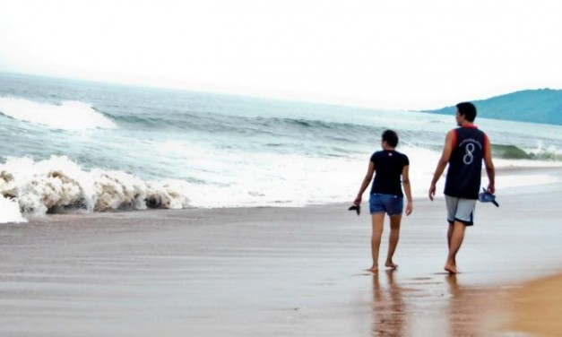On the Beaches of North Goa