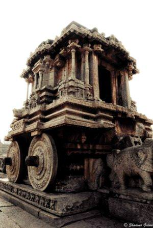 Hampi_Vitthala_Temple-Chariot_3