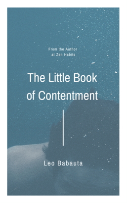 The Little Book of Contentment Cover