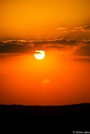 Udaipur-Setting Sun