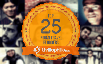 Top 25 Indian Travel Bloggers … Yay !!!