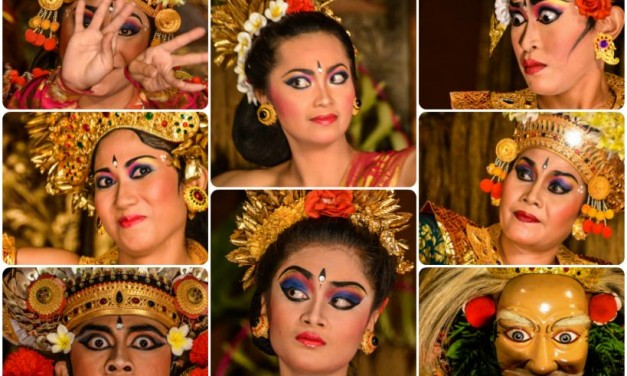 Different Faces of the Legong Dance