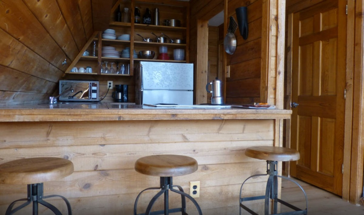 Kitchen at the cabin