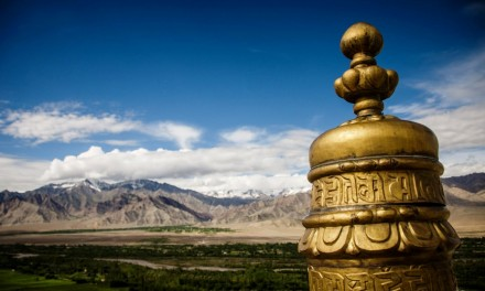 A Morning at Thiksey Gompa