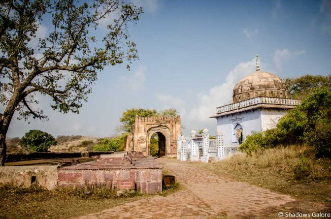 A mosque in the fort