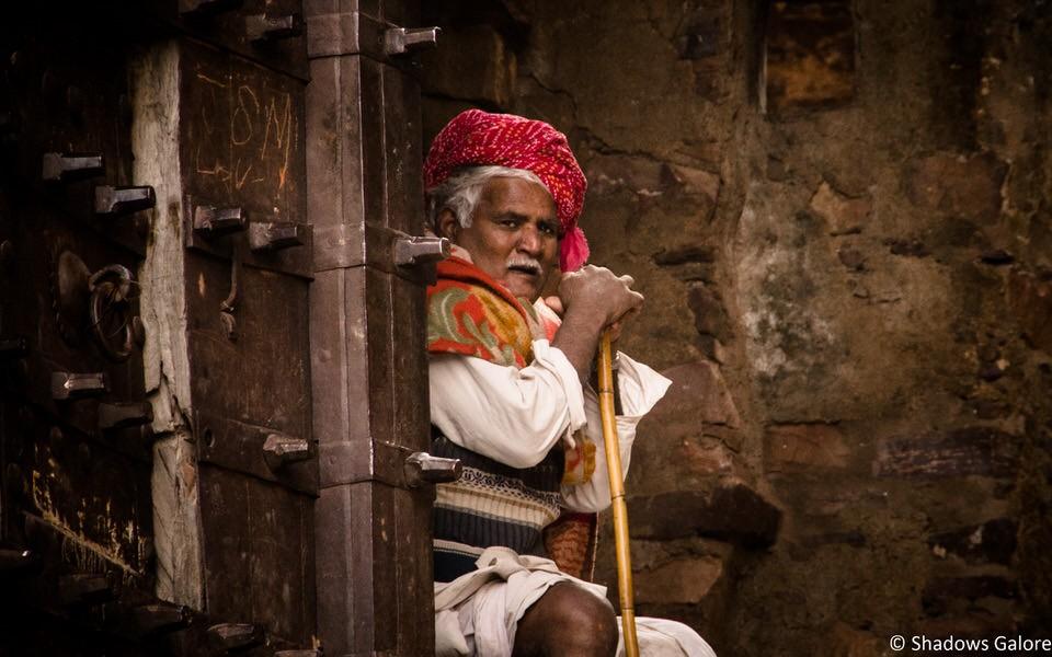 Ranthambore Fort Old Man