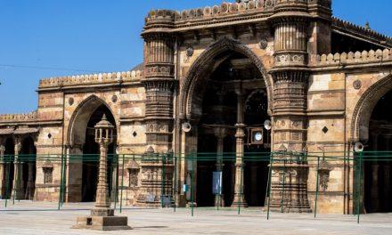 The Beautiful Jama Masjid of Ahmedabad