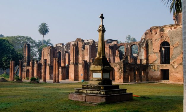 A Winter Morning At The Residency of Lucknow